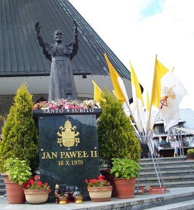 Zakopane. Jan Paweł II na Krzeptówkach