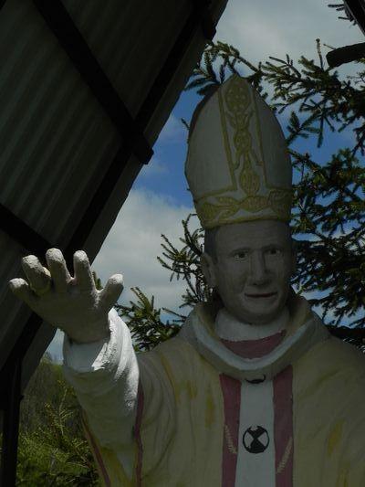 Wola Niżna. Jan Paweł II Przydomowy