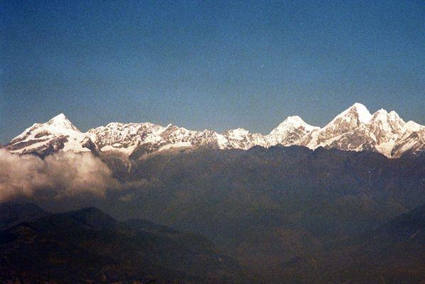 Pokhara. Letnisko pod Dachem Świata