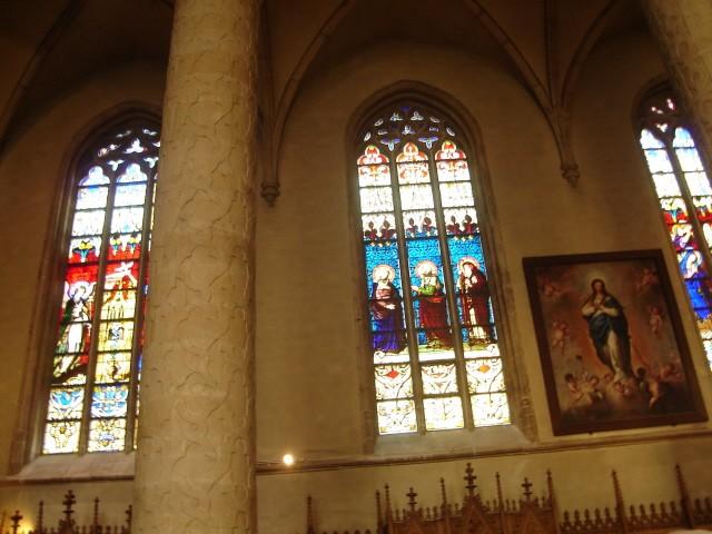 Luksemburg. Czarna katedra Notre Dame