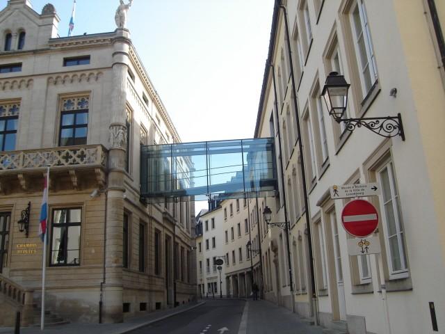 Luksemburg. Pałac Wielkiego Księcia