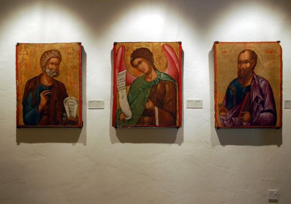 Omodos. Legenda klasztoru Św. Krzyża