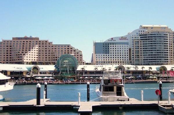 Sydney. Darling Harbour, czyli coś z niczego