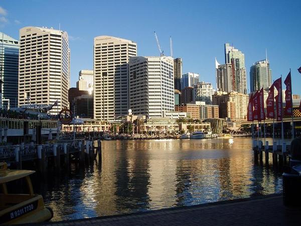 Sydney Darling Harbour, czyli coś z niczego