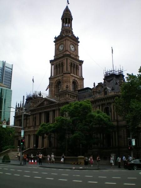 Sydney. Przez City wzdłuż George street