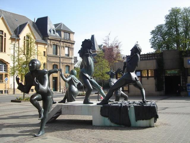 Luksemburg Księstewko w centrum Europy