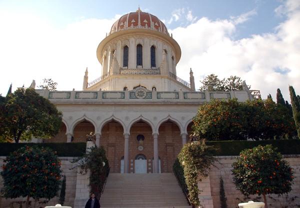 Hajfa. Świątynia i ogrody bahaistów