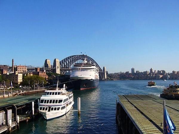 Sydney W kolonialnym klimacie The Rocks