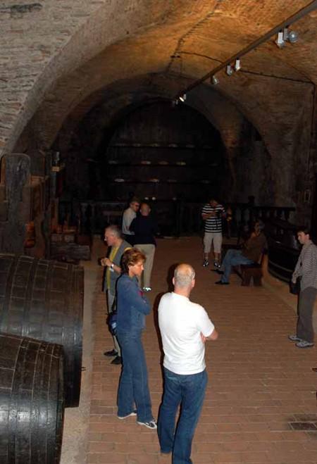 Mikulov. Wino w zamku i w winnicach