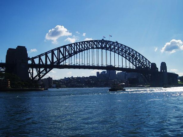 Sydney. Wieszak, czyli Harbour Bridge
