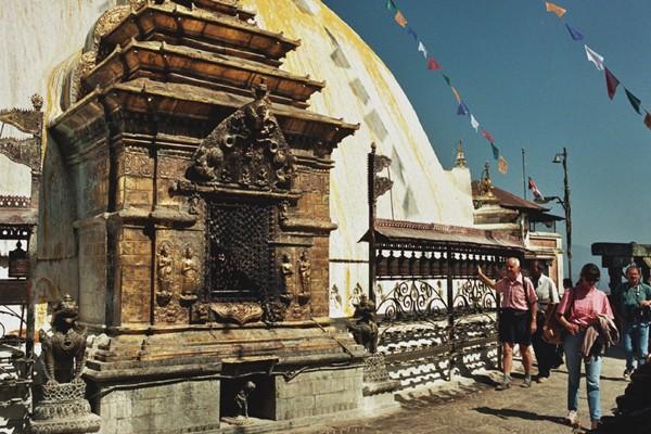 Katmandu Sanktuarium Svayambunath