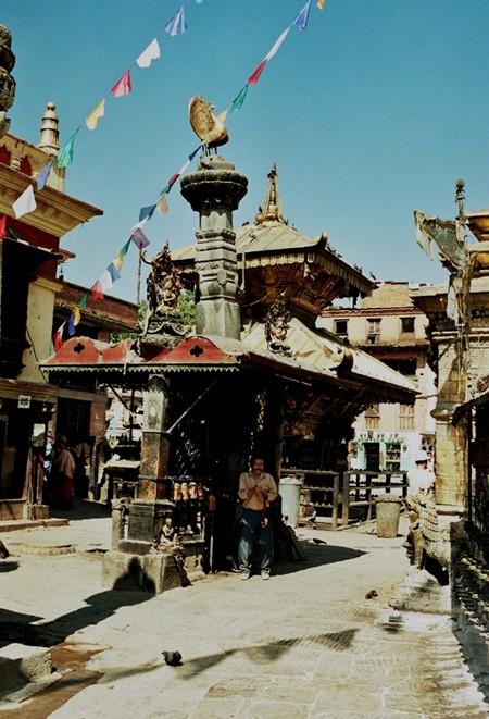 Katmandu. Sanktuarium Svayambunath