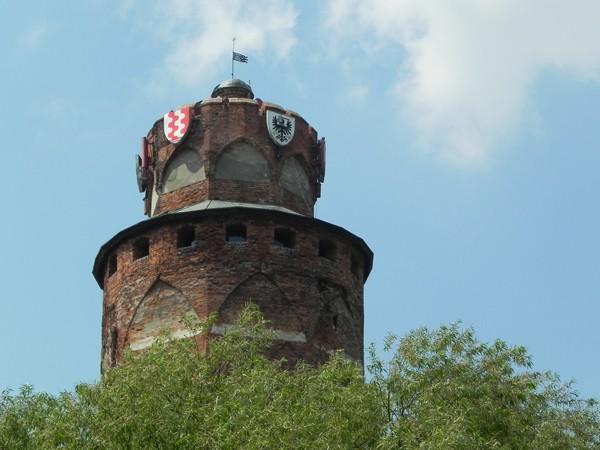 Brodnica Pod wieżą krzyżackiego zamku