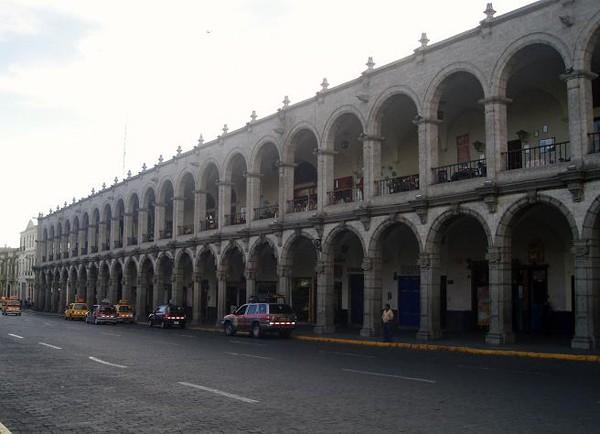 Arequipa. Autobusem przez Peru