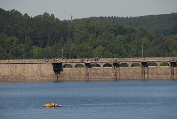 Jezioro Lubachowskie Stuletnia zapora na Bystrzycy