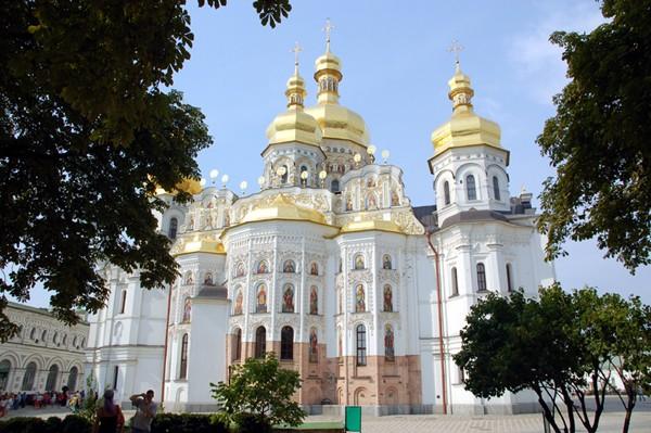 Kijów Złote kopuły nad Dnieprem