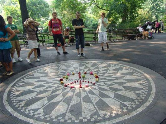 Nowy Jork Truskawkowe Pola Johna Lennona