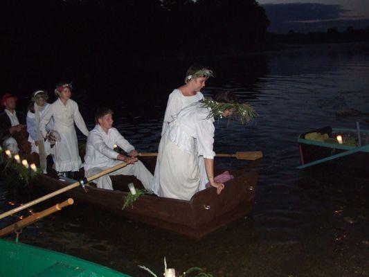 Rożyńsk. Na świętego Jana wianki na wodę