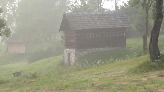 Nowica. Cichy wieczór w łemkowskiej wsi