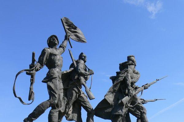 Sankt Petersburg. Pomnik bohaterów 900. dni oblężenia