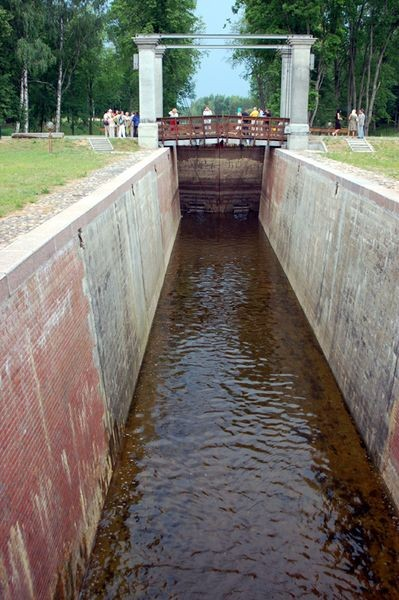 Kanał Augustowski. Po tamtej stronie unijnej granicy