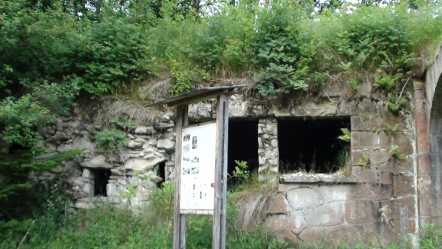 Wysowa. Ruiny w Dolinie Łopacińskiego