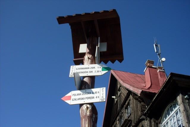 Stóg Izerski Przyjazne szlaki ze schroniska