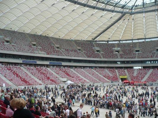 Warszawa Stadion Narodowy… dla turystów