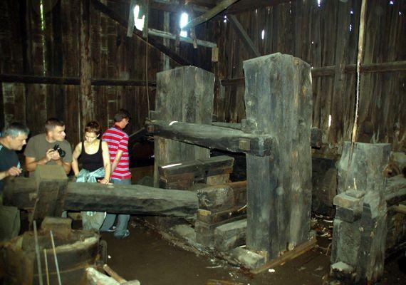 Stara Kuźnica Koło wodne kręci się od 350 lat!