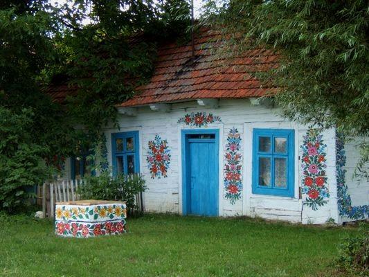 Zalipie Wieś w kwiaty malowana