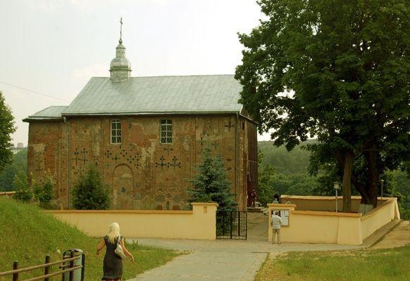 Grodno Cerkiew na niemeńskiej skarpie
