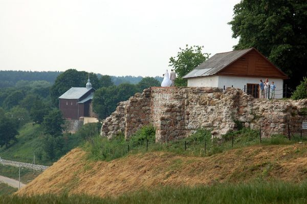 Grodno. Cerkiew na niemeńskiej skarpie