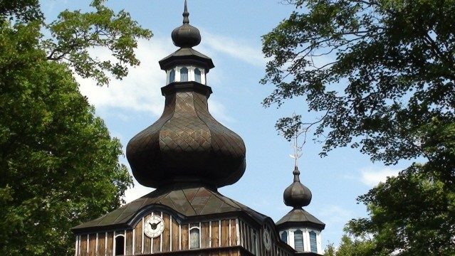 Hańczowa. Cerkiew Opieki Bogarodzicy