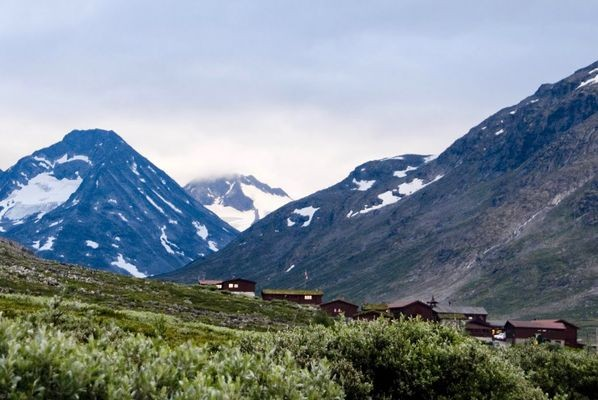 Spiterstulen. W norweskim górskim schronisku