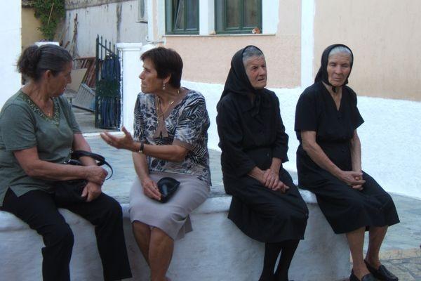 Kinopiastes. Wiejski odpust na wyspie Korfu