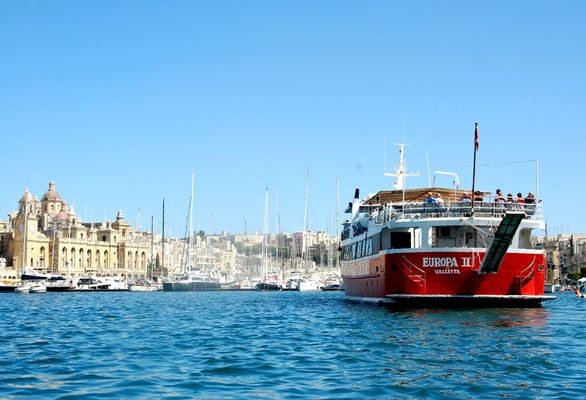 Malta. Trójmiasto na skalistych półwyspach