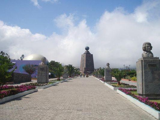 Quito El Mitad del Mundo – środek świata