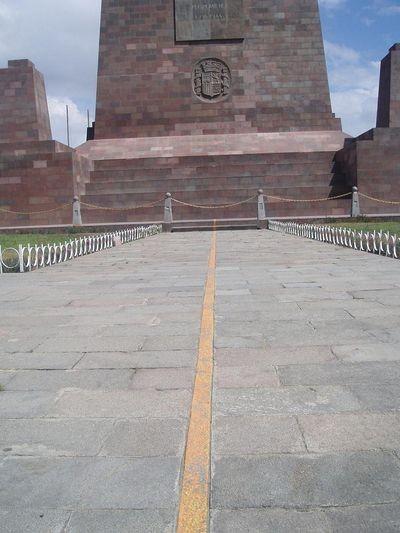 Quito. El Mitad del Mundo – środek świata