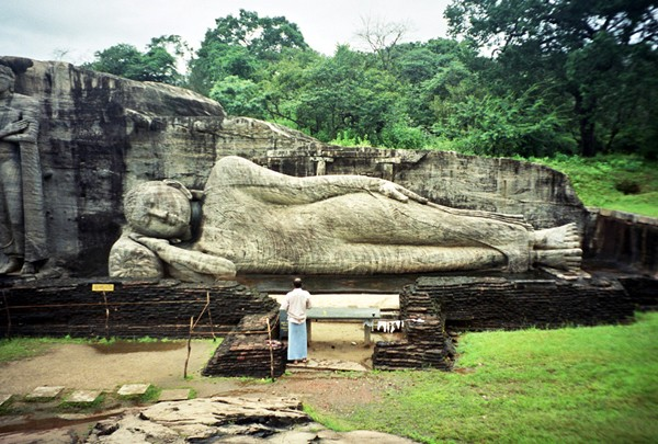 Polonnaruwa Najpiękniejsze posągi Buddy