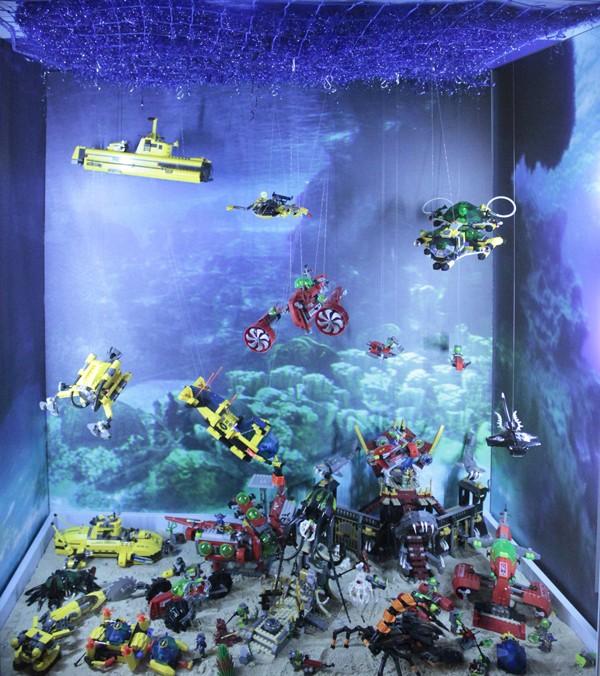 Praga. Największe muzeum klocków Lego