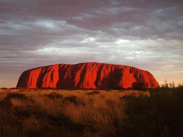 Uluru Święta skała Aborygenów