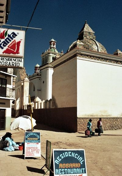 Copacabana. Sanktuarium maryjne nad Titicaca