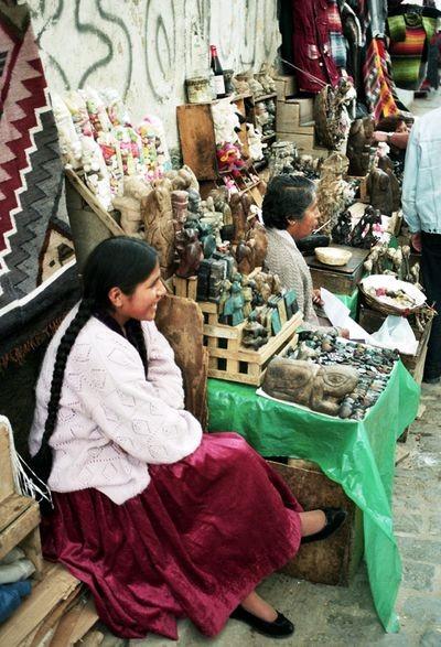 La Paz. Bazar Wiedźm w boliwijskiej stolicy