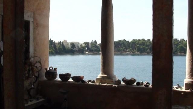 Rovinj. Za murami i od strony morza