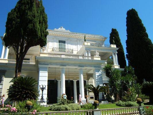 Korfu. Achillion – pałac pięknej cesarzowej