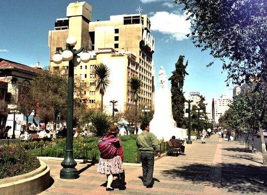 La Paz. Place, zaułki i muzea starówki