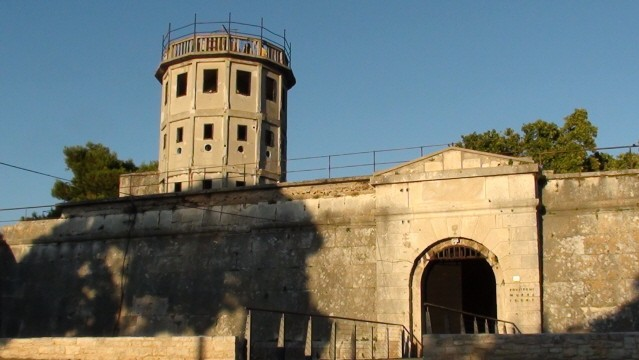 Pula Widoki z murów weneckiej twierdzy