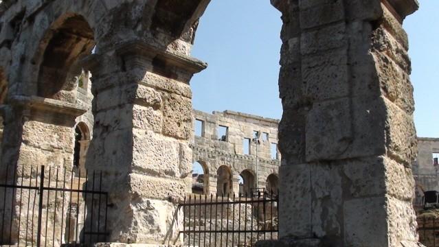 Pula Arena, czyli rzymski amfiteatr