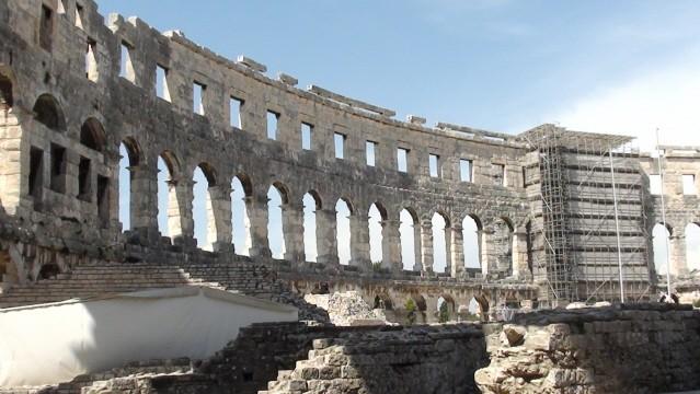 Pula. Arena, czyli rzymski amfiteatr