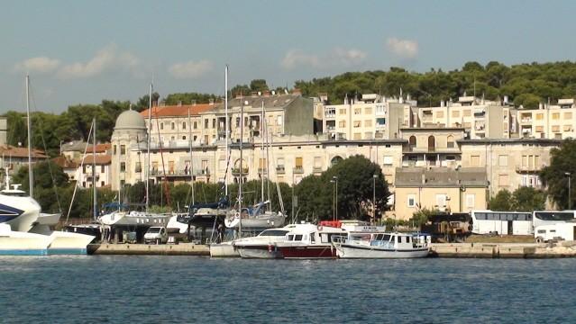 Pula Panorama od strony morza